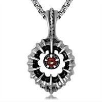 World Of Warcraft Natural ruby pendant Europe And The Royal Retro Magic Focused fine Jewelry Contains