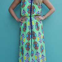 Split Second Maxi Dress