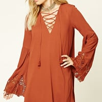Contemporary Bell-Sleeve Dress