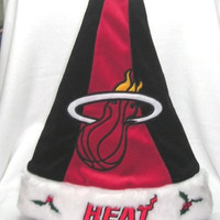 Miami Heat Santa Hat