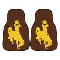 Wyoming Cowboys NCAA Car Floor Mats (2 Front)