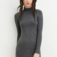 Classic High-Neck Dress
