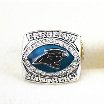 2003 Carolina Panthers NFC Super bowl XXXVIII World Championship Ring as gift size 11