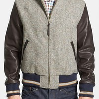 Men's Golden Bear Harris Tweed Varsity Jacket,