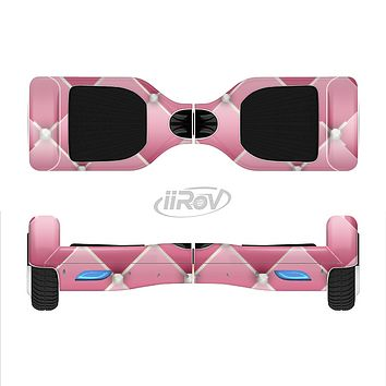 The Pink & Diamond Pinned Cushion Full-Body Skin Set for the Smart Drifting SuperCharged iiRov HoverBoard