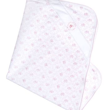Baby Threads Girls Toile Blanket