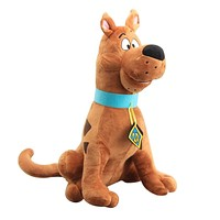 1pcs 35cm Soft Plush Cute Scooby Doo Dog Cute Dolls Stuffed Plush Toy New Christmas Gifts