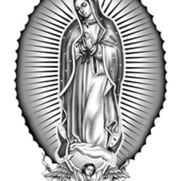 Tattoo Sales: Virgen De Guadalupe Temporary Tattoo - Buy Direct From The Source