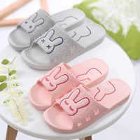 A Pair PVC Non-slip Bathroom Women Slippers Candy Color Home House Indoor Ladies Slippers Summer Slippers Free Shipping04