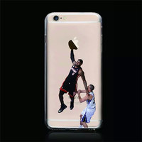 Online Shop New LeBron James Hard Plastic Cover Phone Case For iphone 6 6 plus Curry Basketball Stars Cell Phone shell HK post Free shipping|Aliexpress Mobile