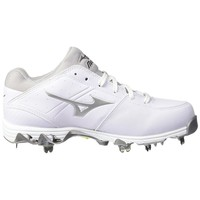 Mizuno 9-Spike Swift 4 Cleats - White – HIT A Double