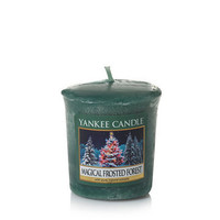 Magical Frosted Forest : Sampler Votive Candles : Yankee Candle