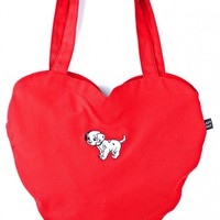 X Disney 101 Dalmatians Heart Bag