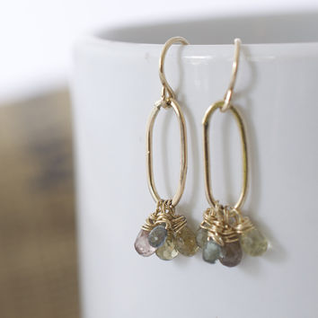 Janice Stevenson Jewelry — Zircon Cluster Earrings