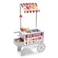 Melissa & Doug Snacks & Sweets Food Cart (Cream)