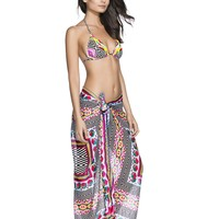 Agua Bendita Poligono Beach Cover Up