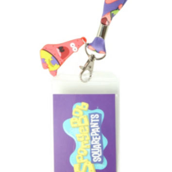 SpongeBob SquarePants Surprised Patrick Lanyard