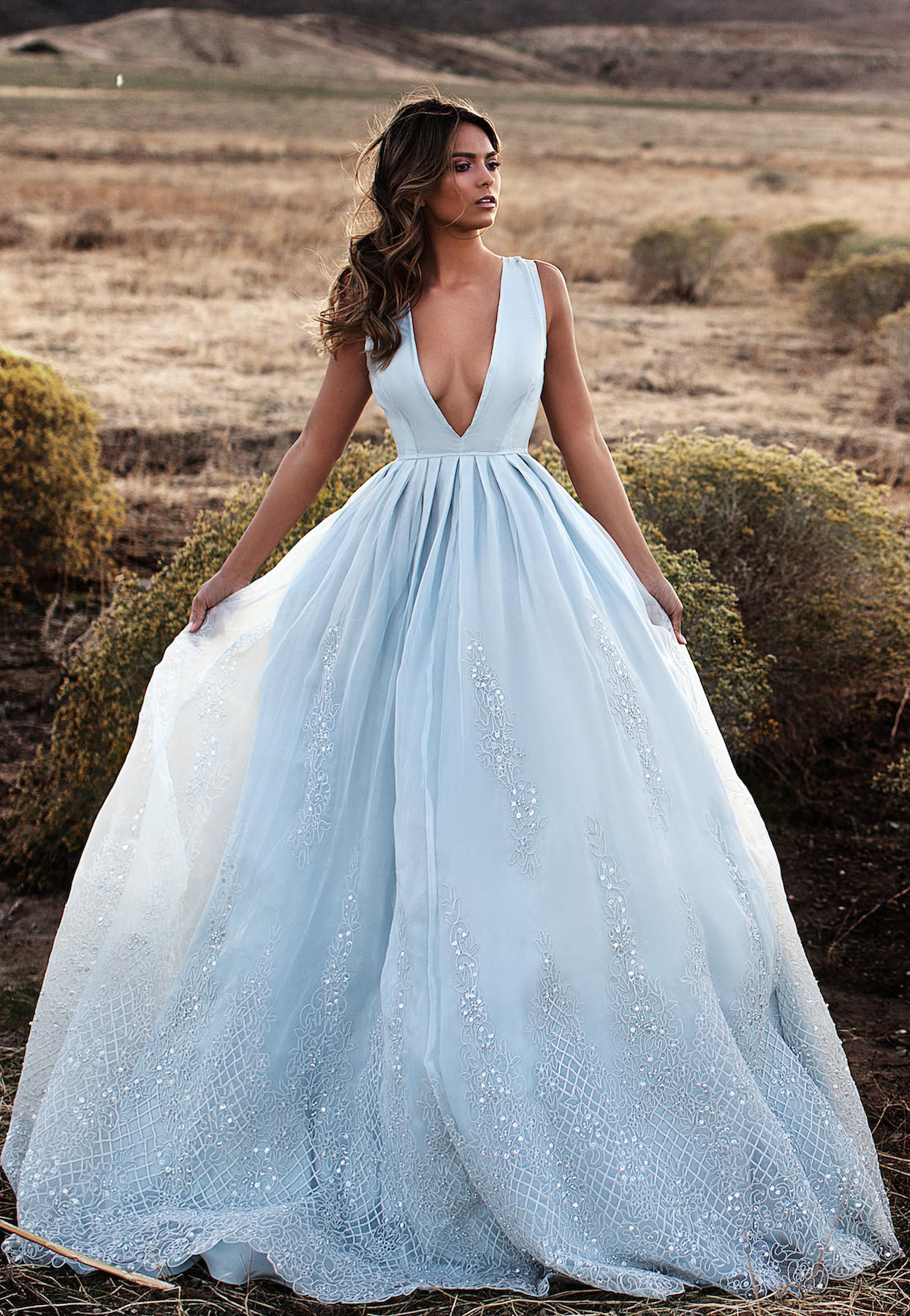BELLE GOWN (BLUE) from Lurelly | Dresses