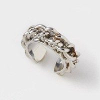 Chainlink Ear Cuff  | Claire's