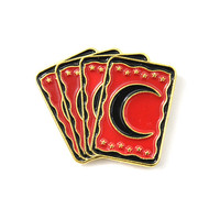 Tarot Cards Lapel Pin