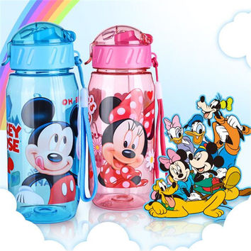baby Bottles Eco-friendly PP Kid Bickiepegs baby cups baby cartoon water bottle children Straw Bottle Child kettle sports bottle