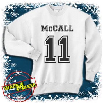 scott McCall 11 sweatshirt beacon hills lacrosse sweatshirt teen wolf shirt sweater WMMC-1