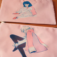 *Restocked!* Howl Zipper Pouch by fuu's art shop