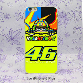 toalla valentino rossi vr 46 Pattern hard White Skin Case Cover for iPhone 4 4s 4g 5 5s 5c 6 6s 6 Plus
