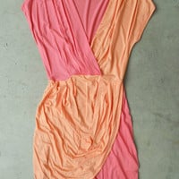Peony Two Tone Tulip Dress [3097] - $32.00 : Vintage Inspired Clothing & Affordable Summer Dresses, deloom | Modern. Vintage. Crafted.