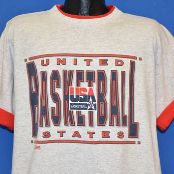 90s United States Olympic Basketball Team t-shirt Extra Large