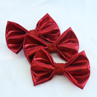 The Dorothy Collection: Ruby Slippers Clip-On Bow