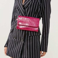 Lera Croc Convertible Belt Bag | Urban Outfitters