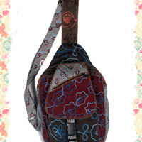 Swirls for Cool Girls Sling Bag