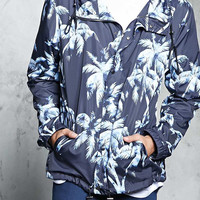 Palm Tree Graphic Windbreaker