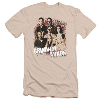 CRIMINAL MINDS/SOLUTION LIES WITHIN - S/S ADULT 30/1 - CREAM -