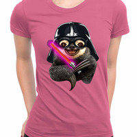 Darth Sloth Womens T Shirts