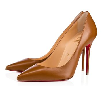 Decollete 554 100 Safari Leather - Women Shoes - Christian Louboutin