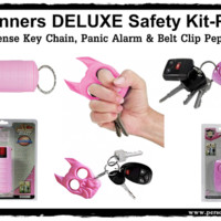 Runners DELUXE Safety Kit-Pink
