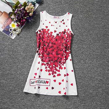 Summer Girls Party Dress Princess Girl Dress Cotton Children Costume for Kids Clothes Baby Smock Dress Casual Outfits
