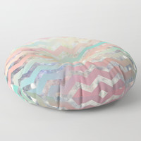 New World Chevron Pastel Wall Tapestry by Sandra Arduini