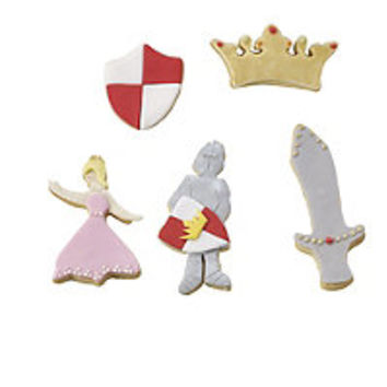 Fairytale Cookie Cutter Set in cookie and pastry cutters at Lakeland
