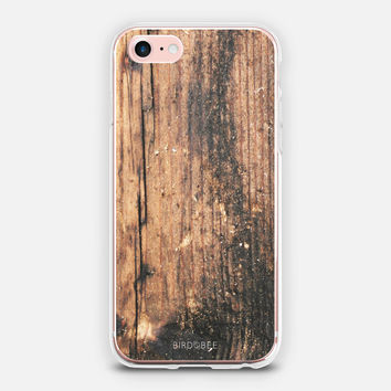 Bird Bee Wood iPhone Case