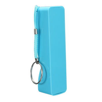 Universal New 18650 Battery Charger Smartphone External Backup USB Power Bank DIY Box Case Kit Key Chain For Cell Phone for mp3