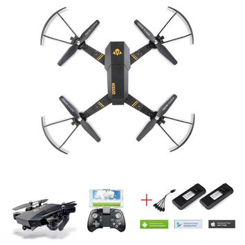 Xs809w Xs809hw Selfie Drone With Camera Wifi Fpv Quadcopter Rc Drones Rc Helicopter Dron Remote Control Toy For Children Gifts