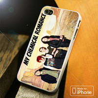 My Chemical Romance Group Band iPhone 4 5 5C SE 6 Plus Case