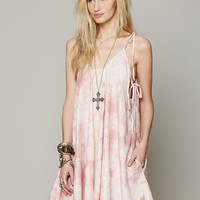 Free People Handkerchief Dress with Pockets