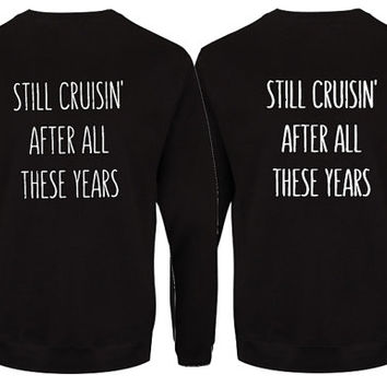 Matching couple sweatshirt. Anniversary gift for parents. His and her sweatshirt. Couple sweatshirt. Funny couple shirts. Gift for couple.