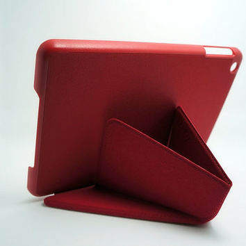 Red iPad mini smart cover,iPad mini thin cover, Kawaii iPad mini smart case,iPad mni full cover