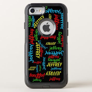 Repeating Names OtterBox Commuter iPhone 7 Case