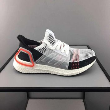 adidas Ultra Boost Multi White Orange Toddler Kid Running Shoes Child Low Top Sneakers - Best Deal Online